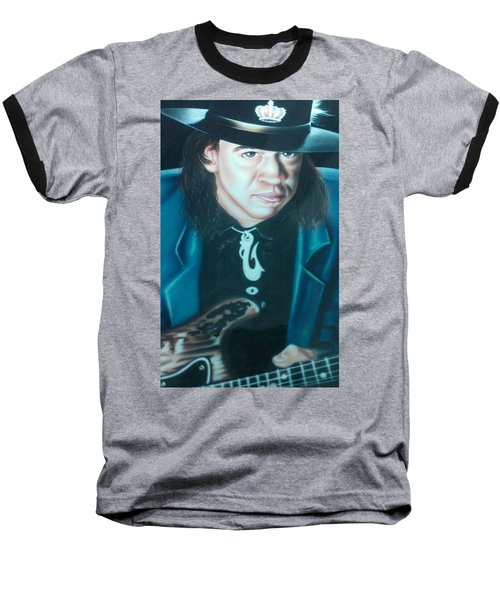 Stevie Ray Vaughn Baseball T-Shirt