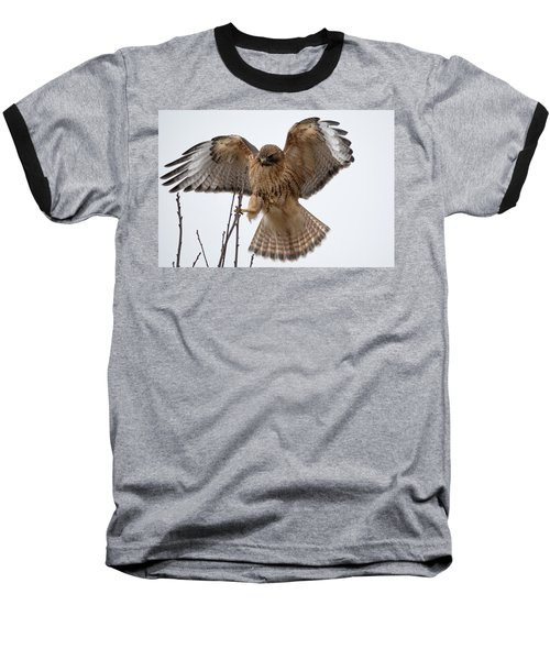 Stick The Landing Baseball T-Shirt