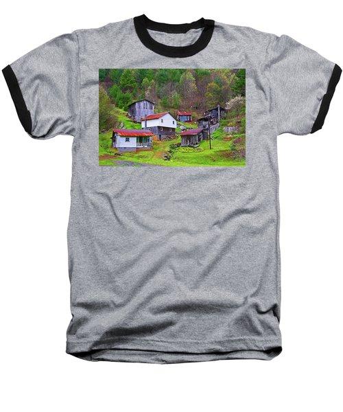 Stike Holler Baseball T-Shirt by Dale R Carlson