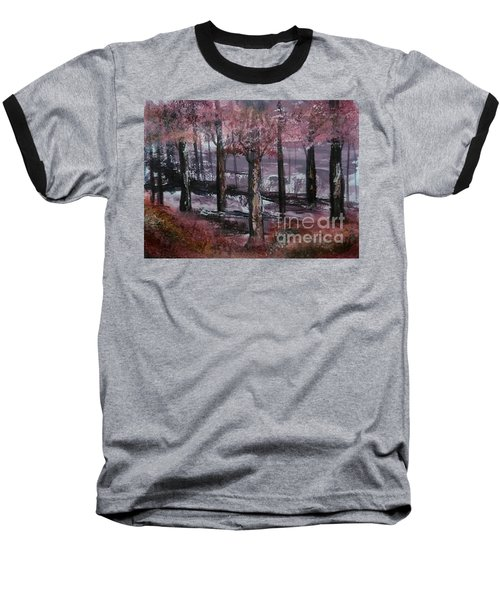 Baseball T-Shirt featuring the painting Still Beauty by Lori  Lovetere