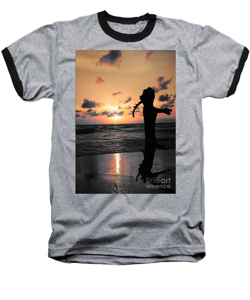 Still By Sea Baseball T-Shirt