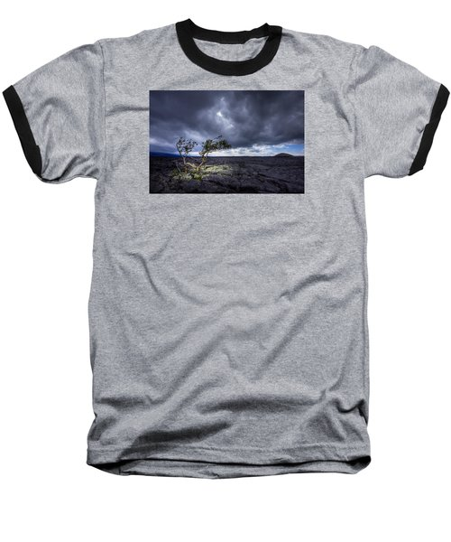 Baseball T-Shirt featuring the photograph Still Fighting by Dan Mihai