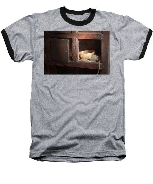 Baseball T-Shirt featuring the photograph Still In The Past by Emanuel Tanjala
