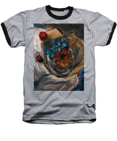 Still Life Abstract Baseball T-Shirt