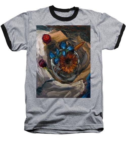 Still Life Abstract Baseball T-Shirt