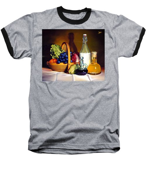 Still Life In Oil Baseball T-Shirt by Patrick Anthony Pierson