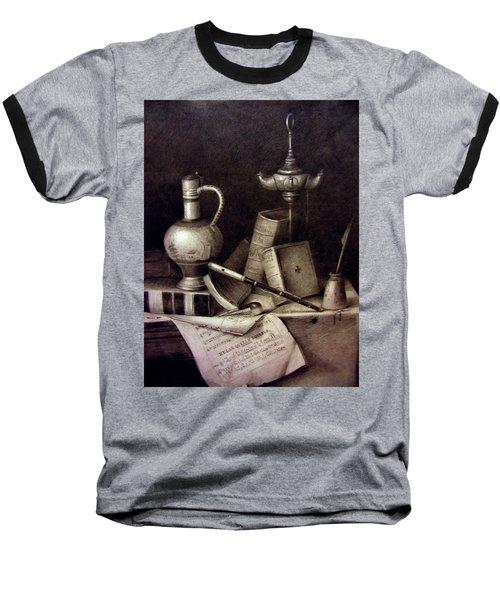Still Life In Pencil Baseball T-Shirt