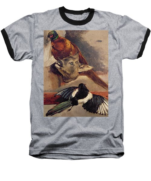 Still Life Of Game Baseball T-Shirt by Theodore Gericault