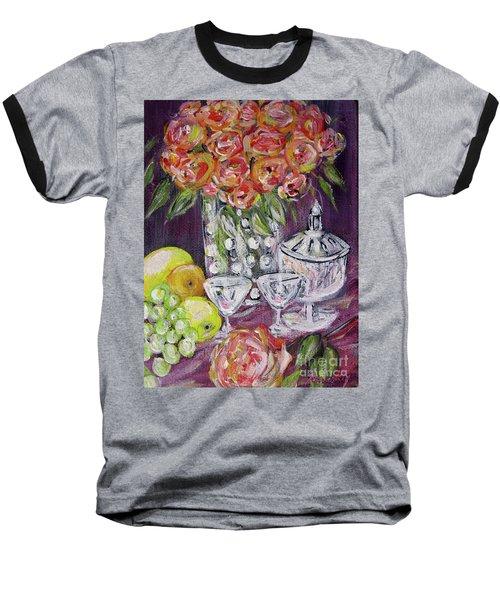 Still Life. Prosperity Baseball T-Shirt