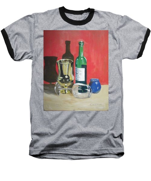 Still Life Shadows Baseball T-Shirt