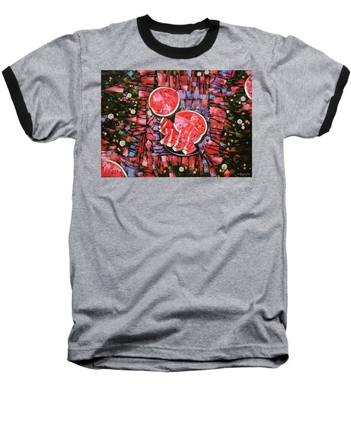 Still Life. The Taste Of Summer. Baseball T-Shirt by Anastasija Kraineva