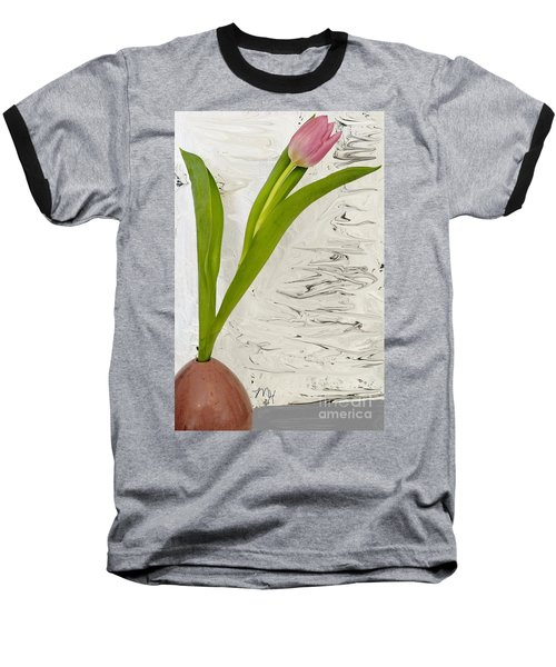 Baseball T-Shirt featuring the photograph Still Life Tulip by Marsha Heiken