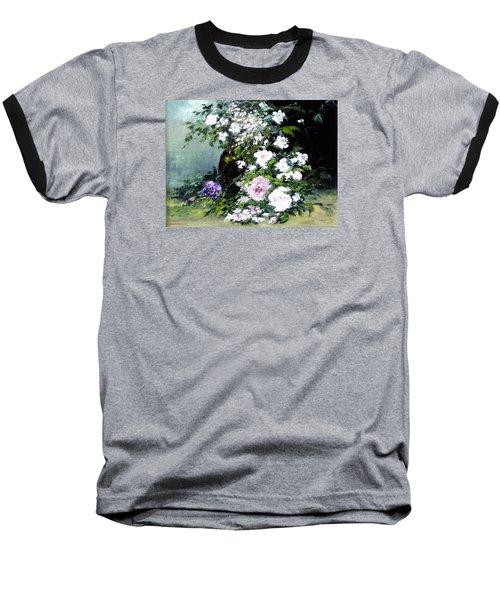 Still Life W/flowers Baseball T-Shirt