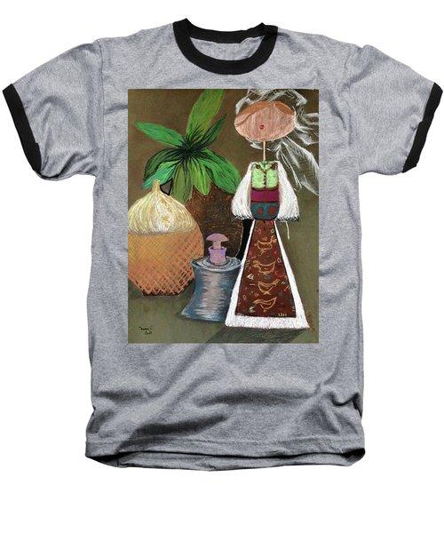 Still Life With Countru Girl Baseball T-Shirt