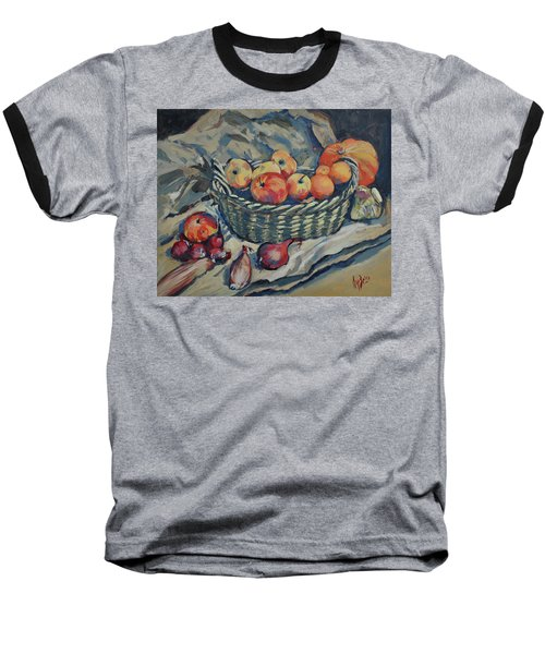 Still Life With Fruit And Vegetables Baseball T-Shirt