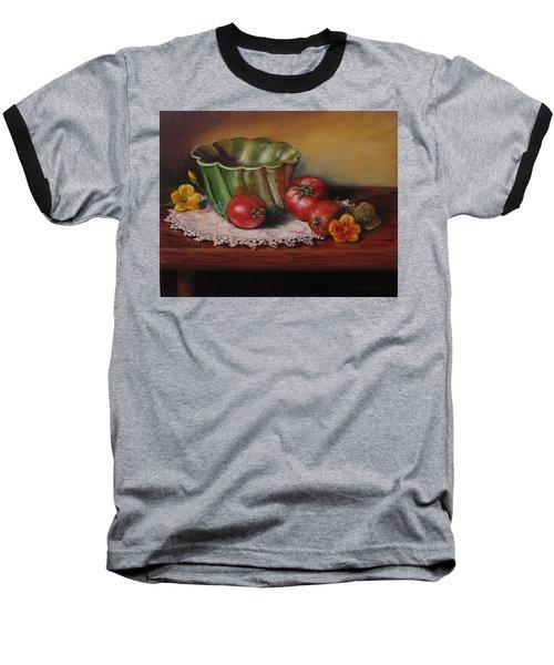 Still Life With Green Bowl Baseball T-Shirt