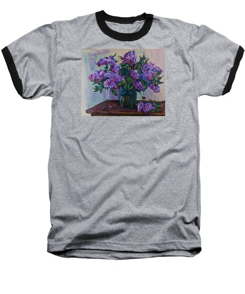 Still Life With Lilac  Baseball T-Shirt