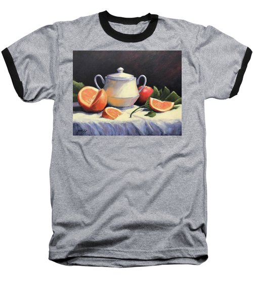 Still Life With Oranges Baseball T-Shirt