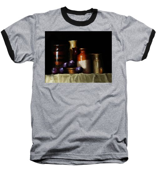 Still Life With Plums Baseball T-Shirt