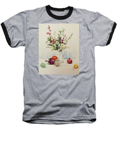 Still Life With Pomegranate Baseball T-Shirt