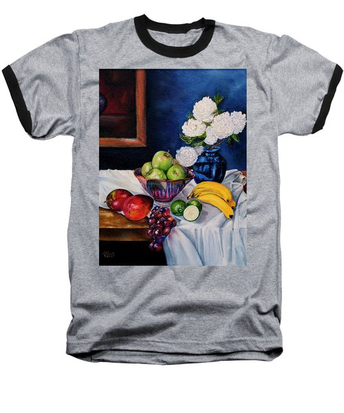 Still Life With Snowballs Baseball T-Shirt