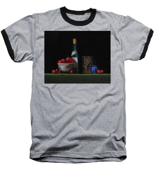 Baseball T-Shirt featuring the painting Still Life With The Alsace Jug by Barry Williamson