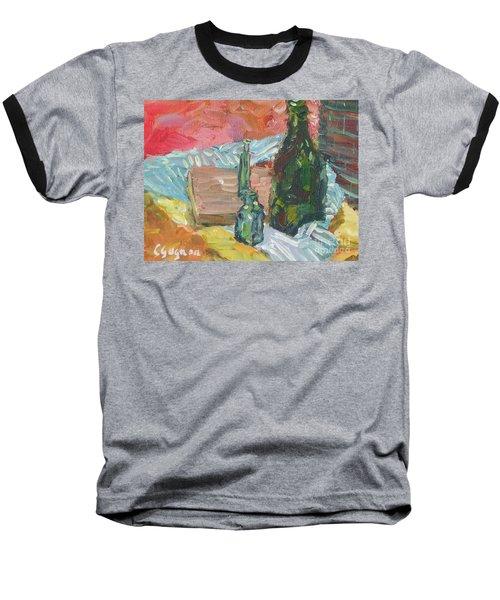 Still Life With Three Bottles Baseball T-Shirt
