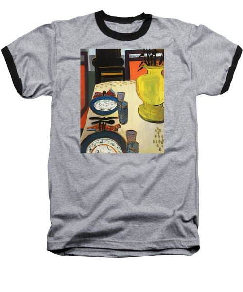 Still Life With Two Plates Baseball T-Shirt