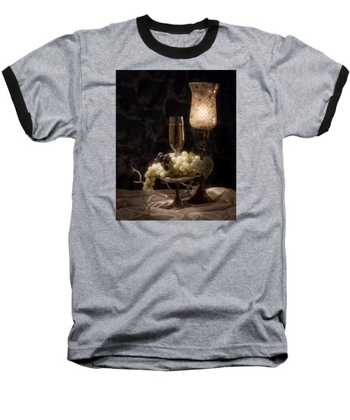 Still Life With Wine And Grapes Baseball T-Shirt