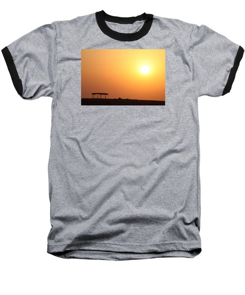 Baseball T-Shirt featuring the photograph Still Out Of The Shade by Jez C Self