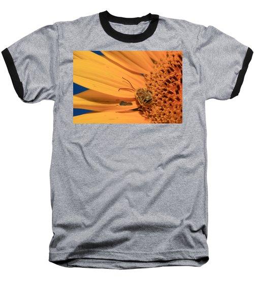 Baseball T-Shirt featuring the photograph Still Sleeping by Chris Berry