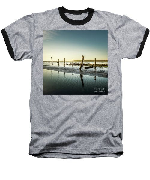 Baseball T-Shirt featuring the photograph Still Standing by Hannes Cmarits