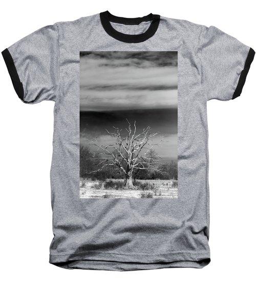 Still Standing Baseball T-Shirt by Nicki McManus