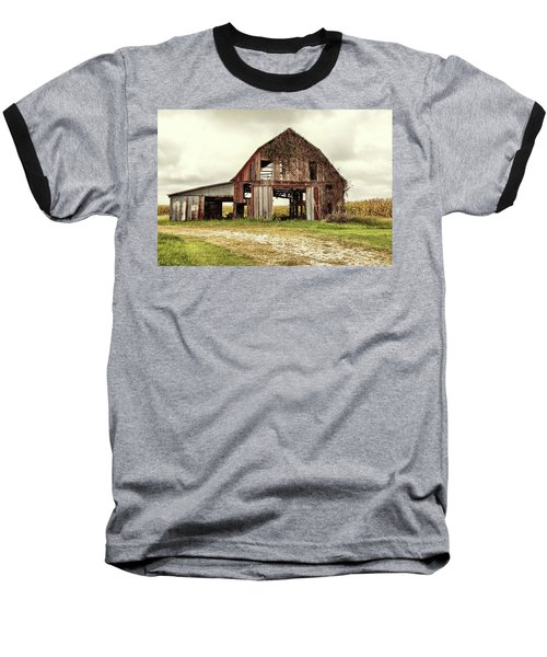 Still Standing Ohio Barn  Baseball T-Shirt
