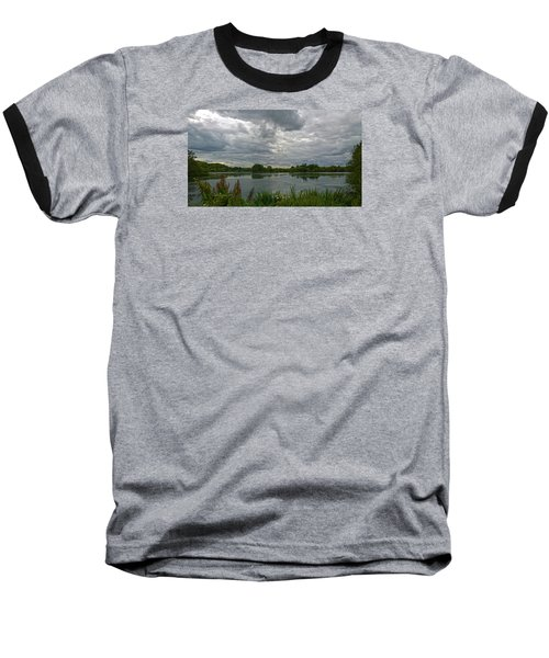 Still Waters Baseball T-Shirt by Anne Kotan