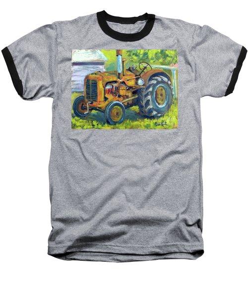Still Workin' Baseball T-Shirt by William Reed