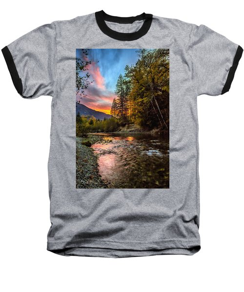 Stillaguamish Sunset Baseball T-Shirt