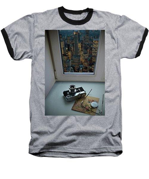 Stilllife With Leica Camera Baseball T-Shirt