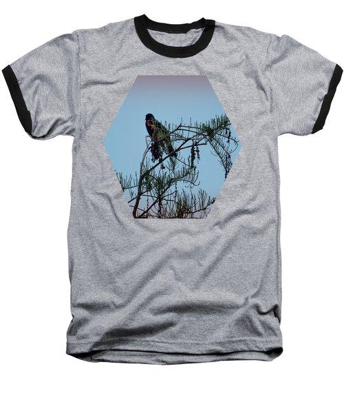 Stillness Baseball T-Shirt by Jim Hill
