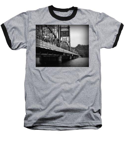 Stillwater Bridge  Baseball T-Shirt by Perry Webster