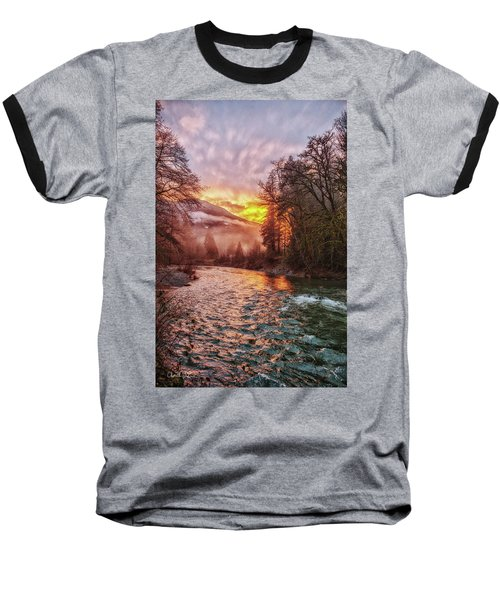Stilly Sunset Baseball T-Shirt