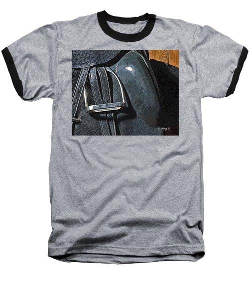 Stirrup Baseball T-Shirt by Roena King