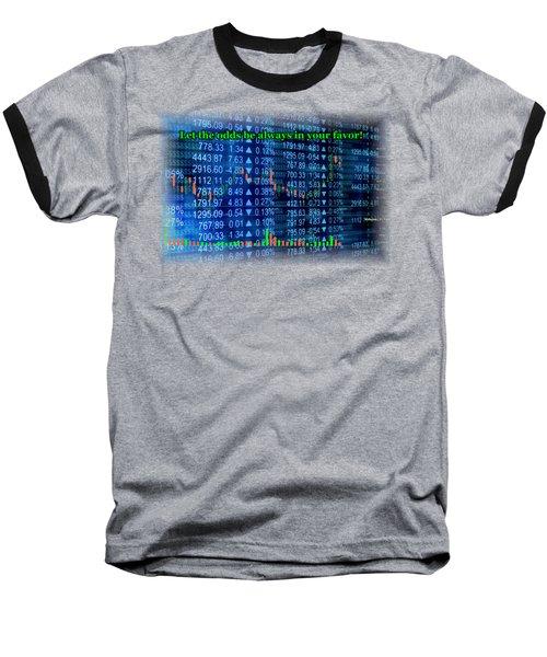 Stock Exchange Baseball T-Shirt