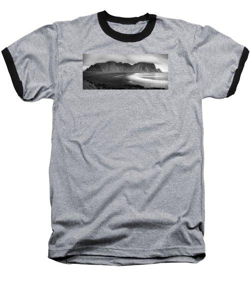 Stokksnes Iceland Bandw Baseball T-Shirt