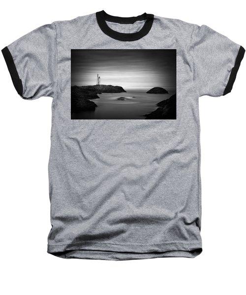Stokksnes Lighthouse Baseball T-Shirt
