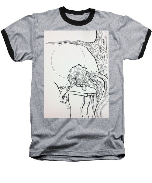 Stone Angel Baseball T-Shirt