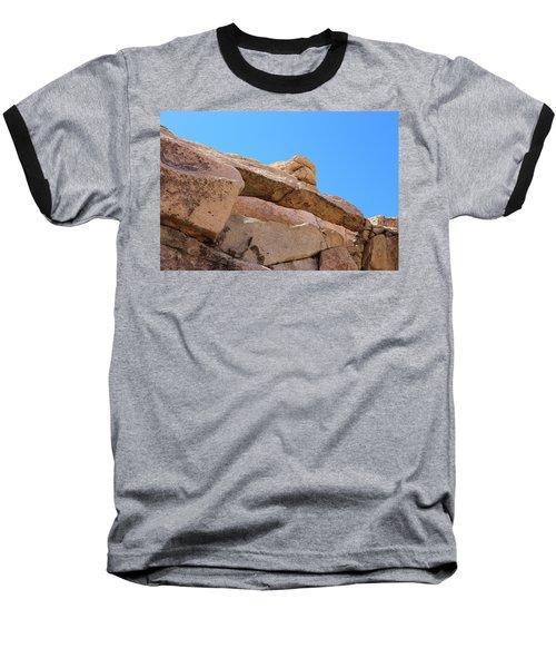 Stone  Arch In Joshua Tree Baseball T-Shirt