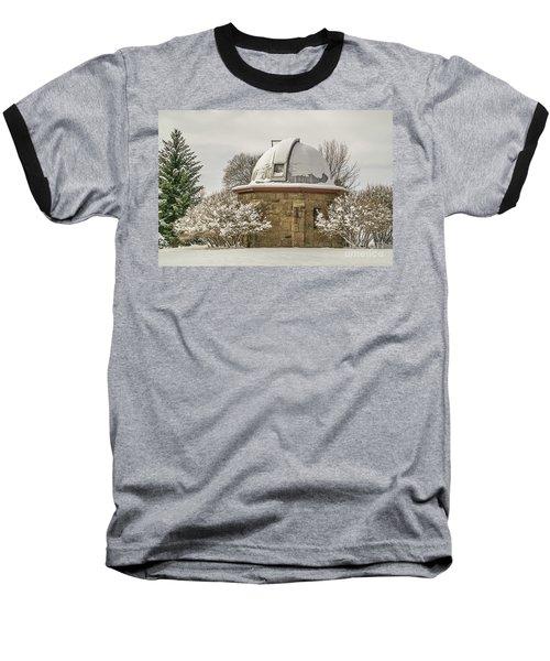 Stone Block Observatory Baseball T-Shirt