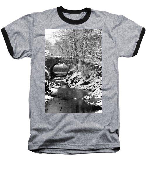 Stone-bridge Baseball T-Shirt by John Scates