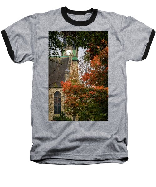 Stone Chapel Fall Baseball T-Shirt